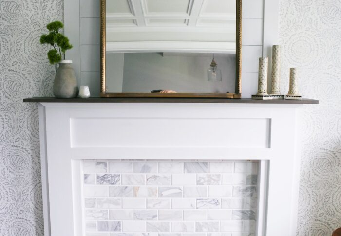 How to build a Faux Fireplace – and make it glow!