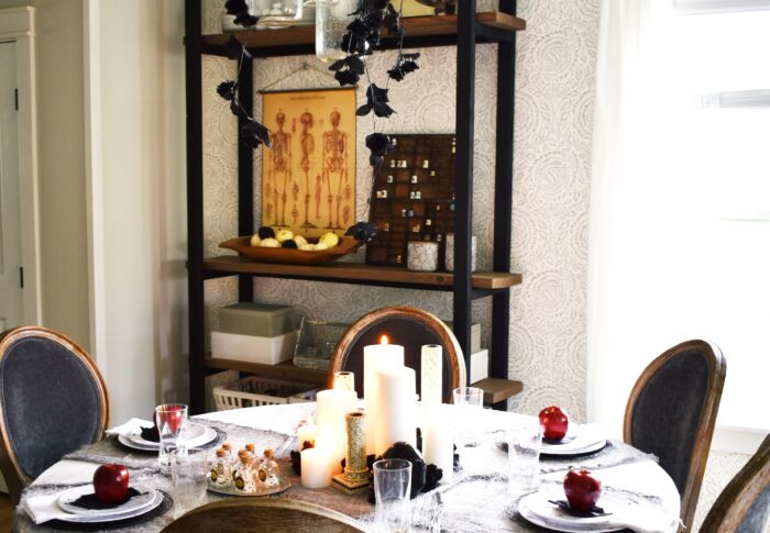 A Halloween Table Fit For a (Evil) Queen