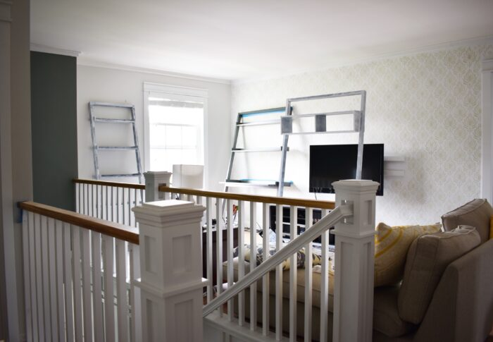One Room Challenge Week 3 – Demoing and Rebuilding my Banisters
