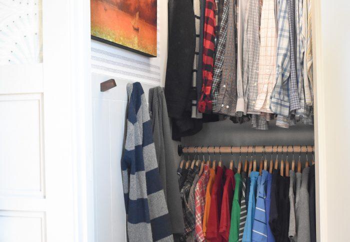 One Room Challenge – DIY Bedroom Closet Reveal