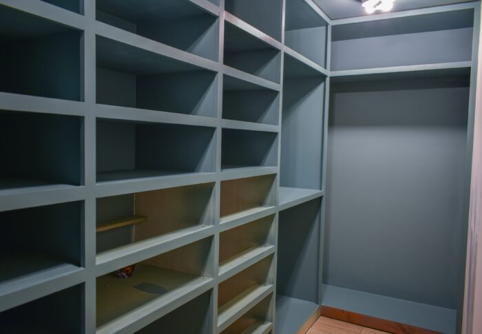 One Room Challenge Week Four – the Start of my Dream Closet
