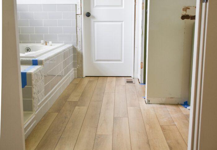 One Room Challenge Week Five – Back to the Bathroom