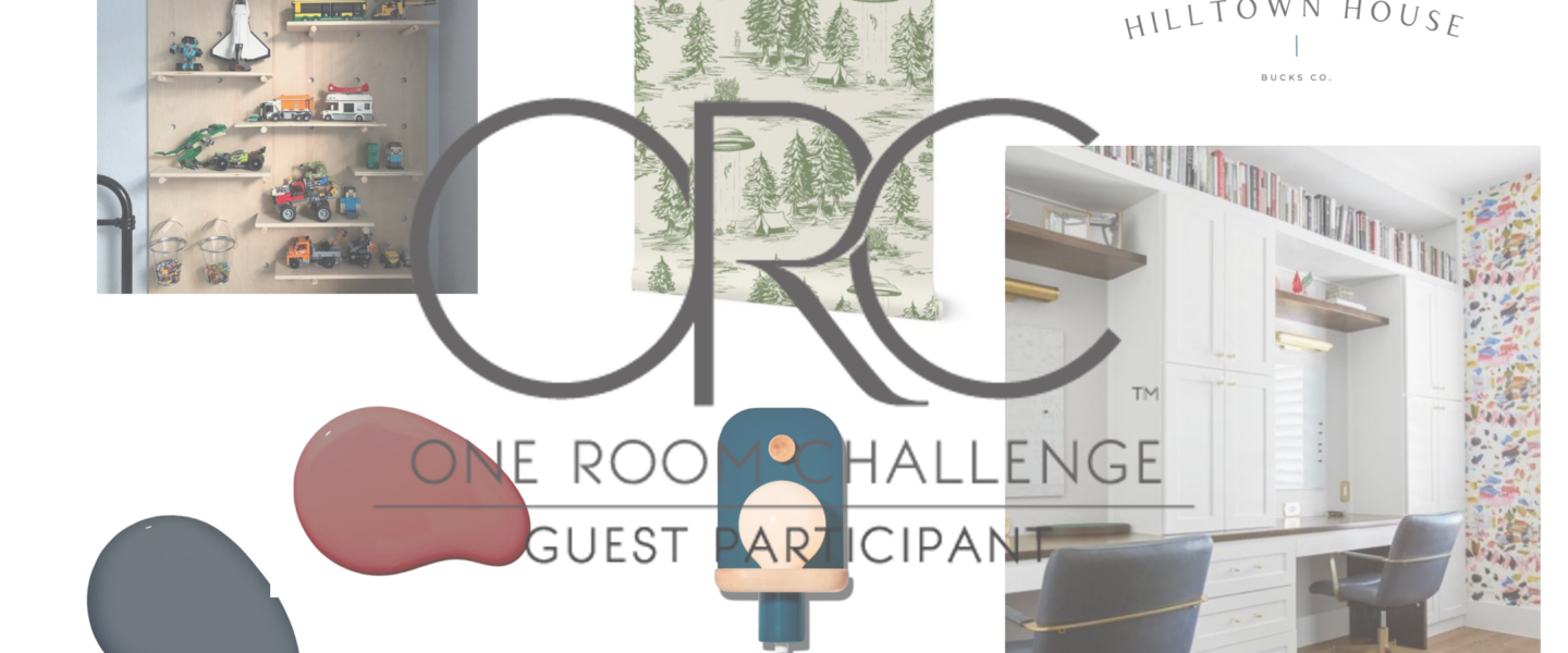 One Room Challenge Week One – This Time its for the Boys